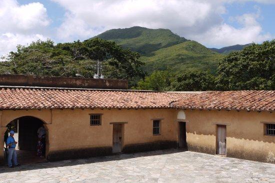 La Asunción, Venezuela: Nádvoří hradu Santa Rosa