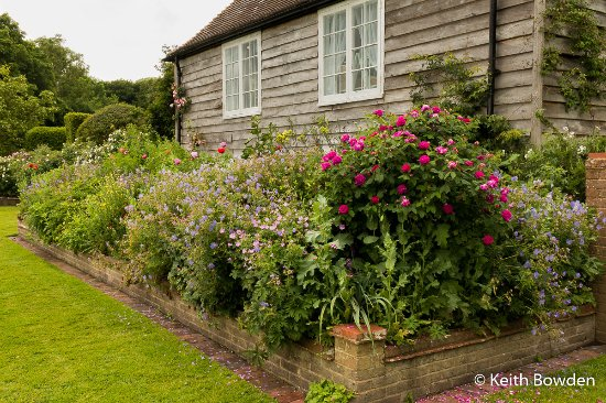 West Hoathly, UK: Priest House from village green