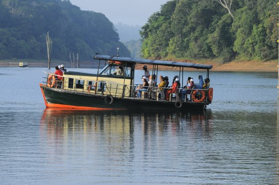 Thekkady, India: Boating - Periyar Wildlife Reserve