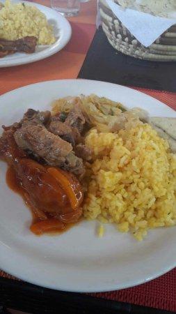 Sunrise Club: piatto giamaicano