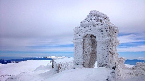 Florina Region, Greece: The view from Prophet Elias Chapel on the top of Mount Voras Kaimaktsalan