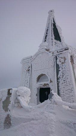 Florina Region, Greece: Prophet Elias Chapel on the top of Mount Voras Kaimaktsalan