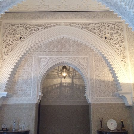 Royal Mansour Marrakech: Beautiful carving work in the lobby