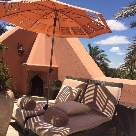 Royal Mansour Marrakech: Private terrace