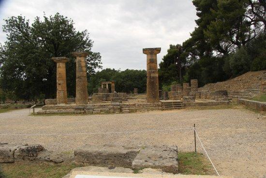 اولمبيا القديمة (أركيا أوليمبيا): Древняя Олимпия. Место,где зажигается олимпийский огонь