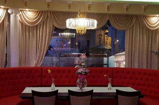 Superb Atlantis Restaurant: Moderne Innenräume!