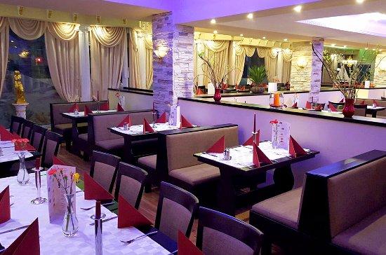 Atlantis Restaurant: Moderne Innenräume!