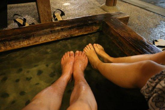 Gero Onsen : Foot bath
