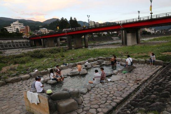 Gero Onsen : Open-air bath
