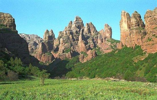 Qurghonteppa, Tajikistan: горы 40 дочек