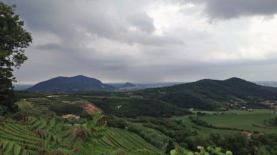 Baone, Włochy: a neanche 1km, che spettacolo!