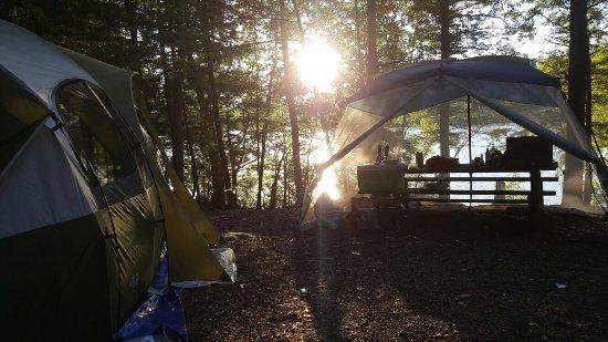 Otis, MA: Great family camping trip!