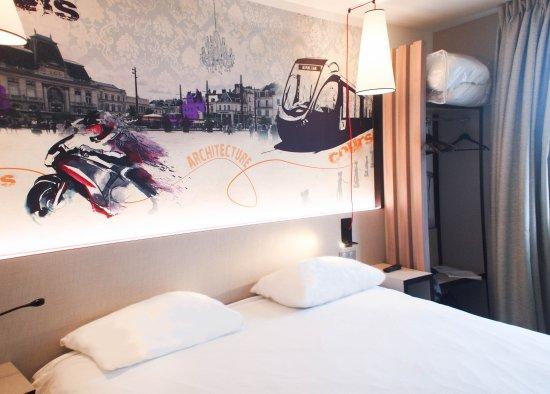 Ibis Styles Le Mans Gare Sud : Chambre double