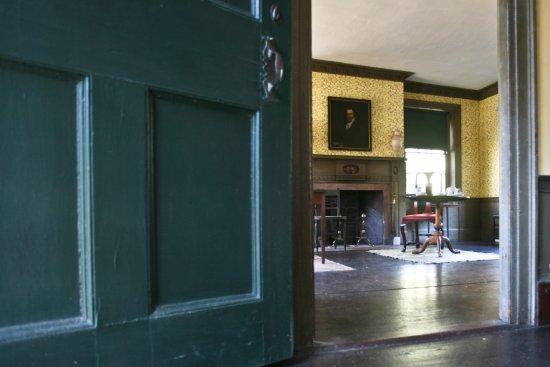 Parlor, Bradford House, Duxbury