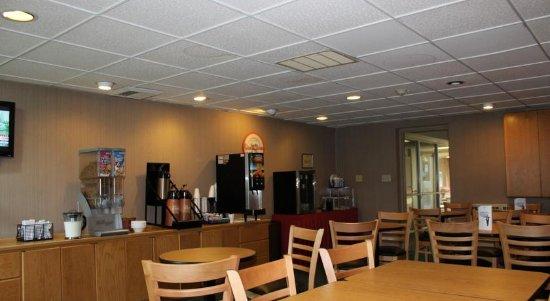 Howard Johnson Hotel Rockford IL: Breakfast Room