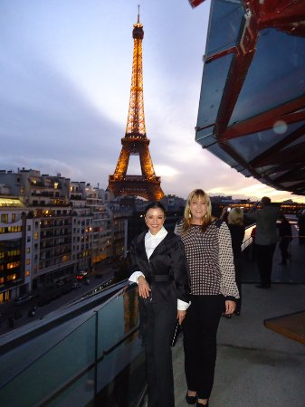 View from terrace picture of les ombres paris tripadvisor for The terrace address