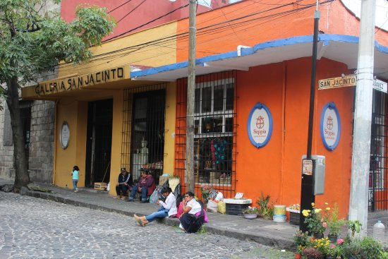 Restaurante Antiguo San Angel Inn : Barrio de San Angel