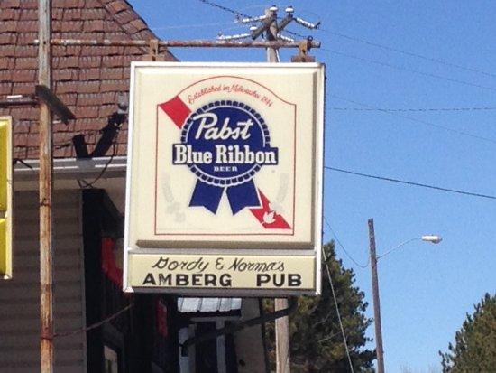 Amberg, Wisconsin: AMBERG PUB