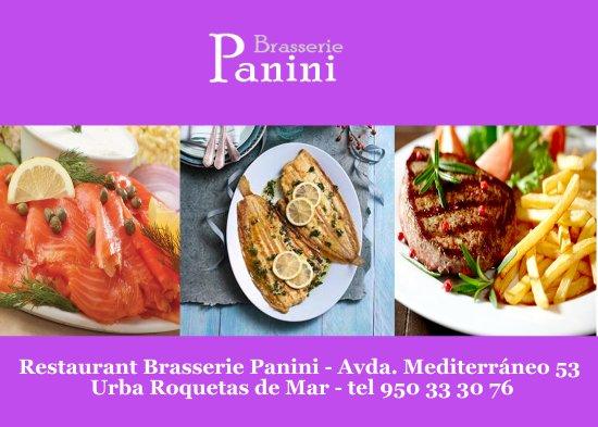 imagen Brasserie Panini en Roquetas de Mar