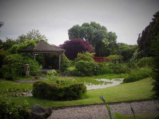 Greens at Gretna: The water garden