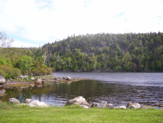Head of Jeddore, Canada: Salmon River View Outside of Cabin 10