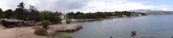 Panoramic view of the coast