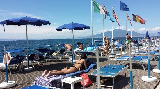 Sant'Agnello, Italy: transats