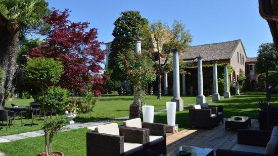 Vigodarzere, Italia: Giardino