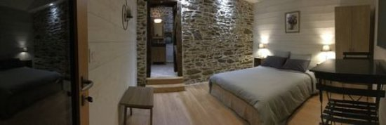 Ille-et-Vilaine, France : Chambre double confort