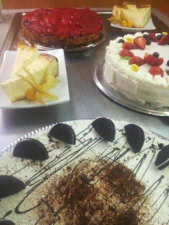 Hotel Gaestehaus Langhammer : hausgemachte Kuchen