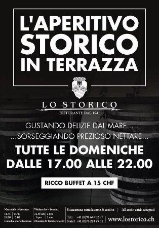 Novazzano, Швейцария: L'AperitiVo STORICO della Domenica in Terrazza