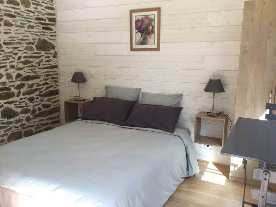 Ille-et-Vilaine, France: Chambre double confort