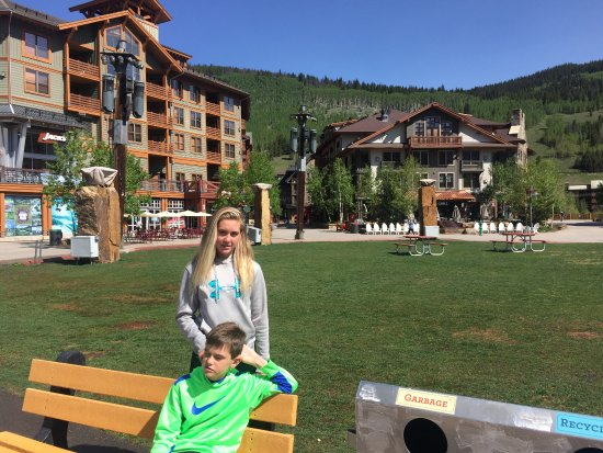 Copper Mountain Ski Area: The village of Copper