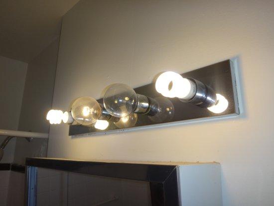 Image result for mismatched light bulbs