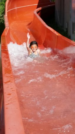 Wild Waterworks: one of the 2 body slides