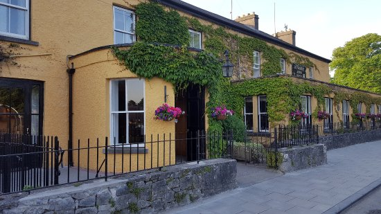 Exterior view of Dunraven Arms Hotel in Adare, Ireland
