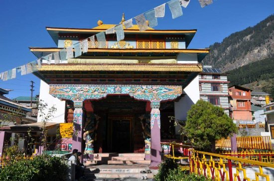 Gadhan Thekchhokling Gompa Monastery
