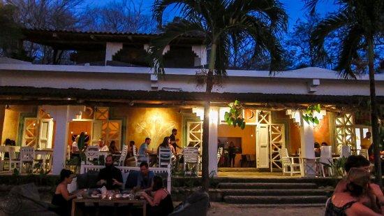 La Luna Restaurant From The Beach
