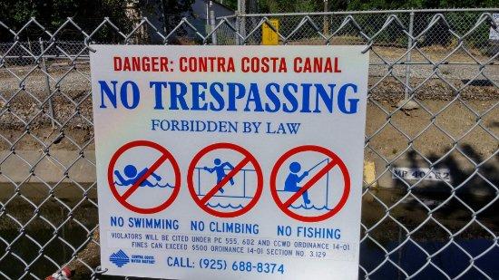 Concord, Californie : Contra Costa Canal Trali, Pleasant Hill, CA, May 2016