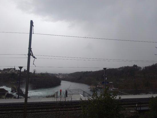 Rheinfall : вид сверху
