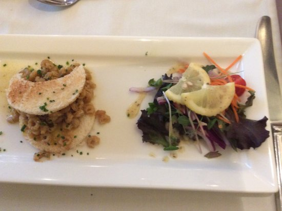 Crooklands Hotel: Morcambe Bay shrimps - lovely
