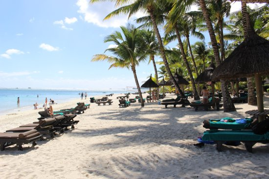 Beachcomber Trou aux Biches Resort & Spa: Plage de l'Hotel