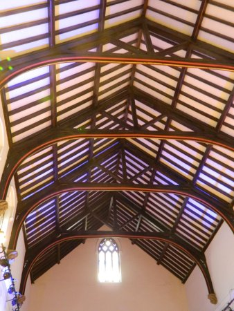 Otley, UK: Nice Ceiling