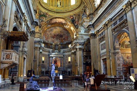 chiesa del ges interno picture of chiesa del gesu