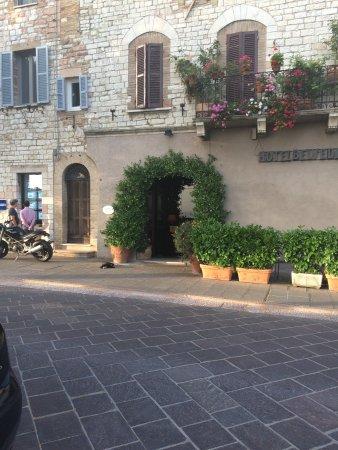 Hotel Belvedere: L'ingresso
