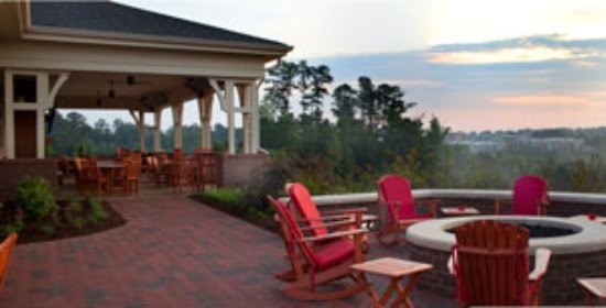 Terrace Dining Room Enjoy The View Of Downtown Raleigh From Our Patio Or Ious