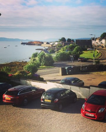 Grey Gull Inn: The view from room 10