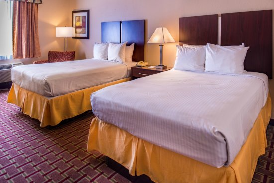 Best Western Tampa: Standard Double Bed Guest Room