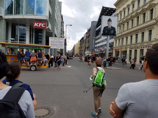Insider Tour Berlin: The old-world charm of Checkpoint Charlie and rest of Berlin is slowly replaced by American bran