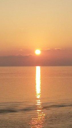 Rodanthe, North Carolina: Sunset from Good Winds in Rodanthe